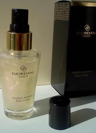 Антивозрастная основа-эликсир под макияж giordani gold elixir primer