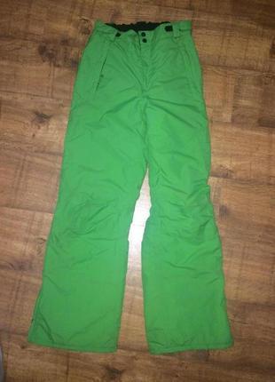 Лыжные кислотные брюки штаны