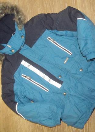 Зимняя куртка lenne для мальчика р.122/128