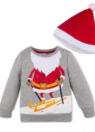 Новогодний реглан свитшот свитер кофта новорічна family look