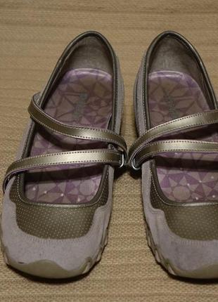 Легкие комбинированные спортивные туфли skechers сша 38 1/2 р.