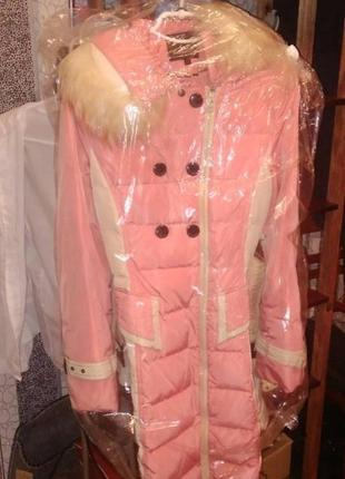Зимнее пальто тёплое на синтепоне