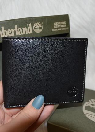 Кожаный кошелек портмоне гаманець timberland отличный подарок оригинал