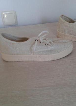 Туфли летние на шнурках
