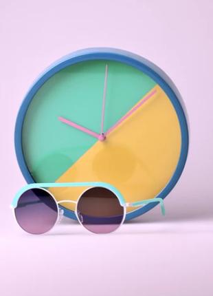Новые солнцезащитные очки oxydo x clemency seilles, италия культовая модель круглые мята