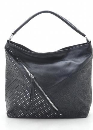 Женская сумка e. style 7204 черная