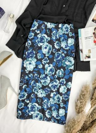 Женственная юбка средней длины  ki1949114  george