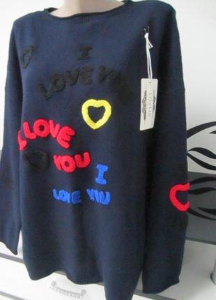 Италия (lily lin). шикарный теплый свитер,пуловер, свитшот, реглан, джемпер.