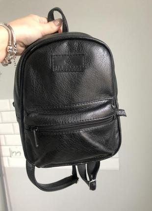 Шкіряний міні рюкзак