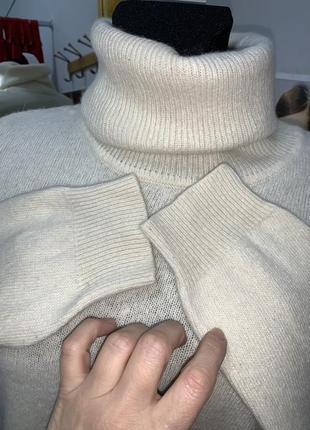 Шерстяной свитер гольф3 фото