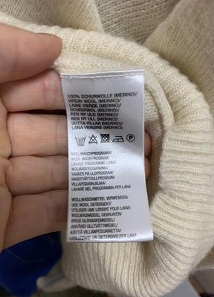 Шерстяной свитер гольф5 фото