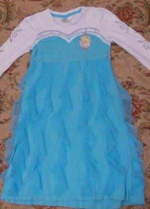 Продам карнавальное платье золушка на 5-6 лет 110-116 см