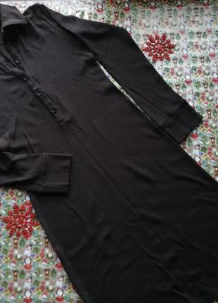 Длинное тёплое платье, шоколад цвет, отличного качества