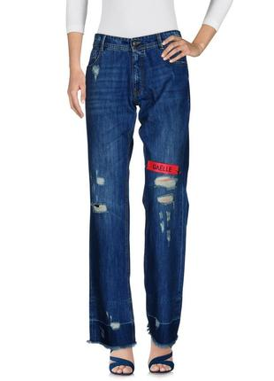 Нові круті прямі джинси gaelle paris оригінал