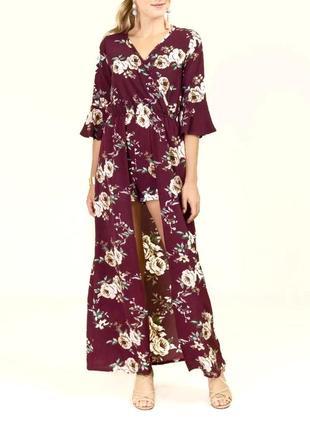 Длинное платье francesca's