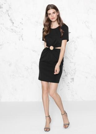 Чёрное мини платье  & other stories