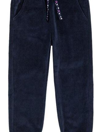 Спортивные велюровые штаны размер на рост 110