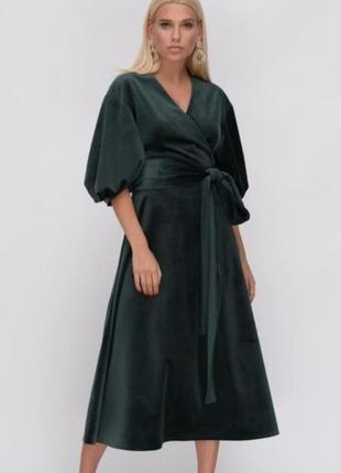 _new_  шикарное !!! бархатное платье !