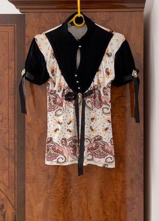 Брендовая футболка блуза блузка