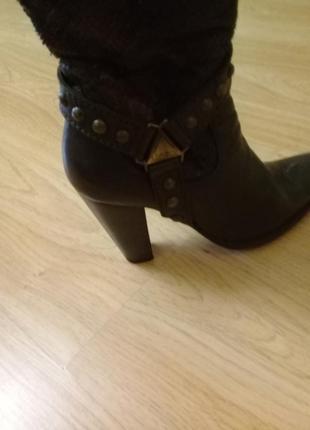 Женские сапоги кожаные, италия - loriblu
