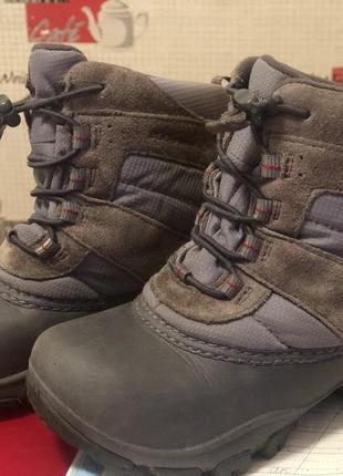 Детские ботинки columbia