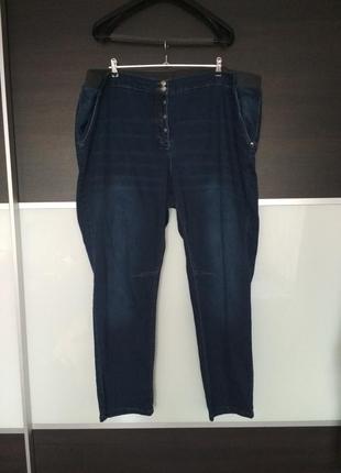 Джинсы синие штаны очень большой размер bonprix