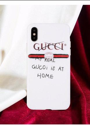 Чехол бампер gucci для iphone