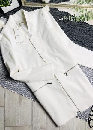 Удлиненный пиджак #stradivarius р-р м