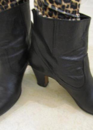 Кожаные ботинки 39 р. andre б. у.