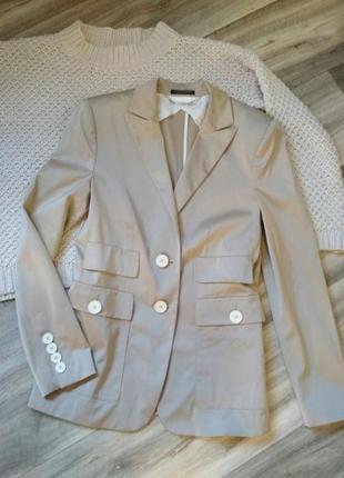 Базовый пиджак жакет премиум класса