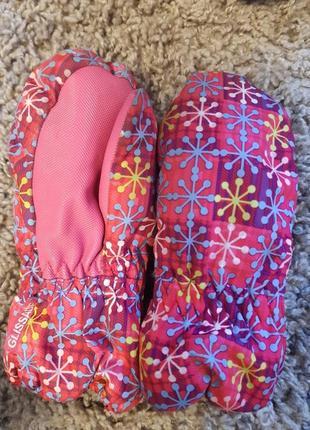 Зимние краги-рукавицы