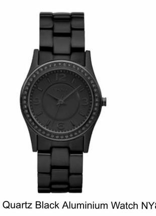 Часы женские кварц  эксклюзив керамика + фионит  дорогой бренд dkny оригинал
