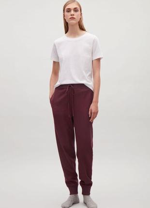 Шерстяные брюки cos 611756