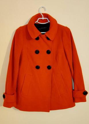 Женское кашемировое демисезонное пальто фирмы h&m