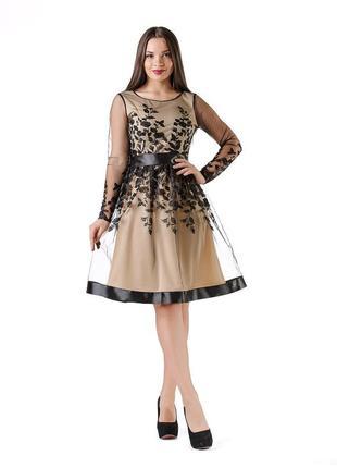 Красивое праздничное платье есть размер 46 и 50 оригинальное
