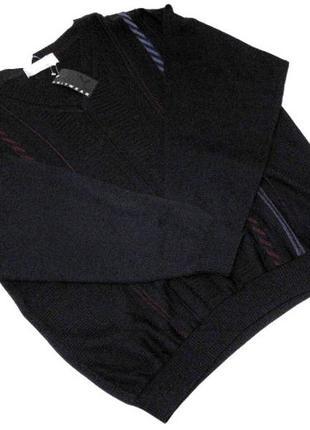 Мужской темно-синий джемпер knitwear