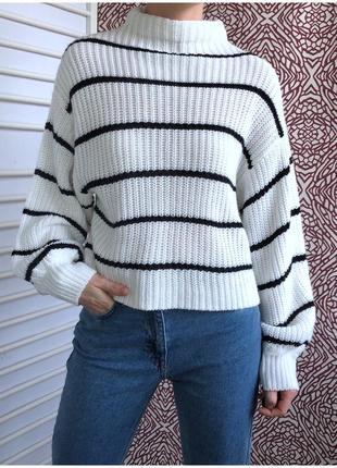 Красивый свитер свободного кроя new look