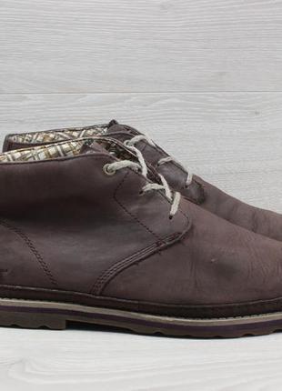 Мужские кожаные ботинки caterpillar оригинал, размер 44 (полуботинки cat)