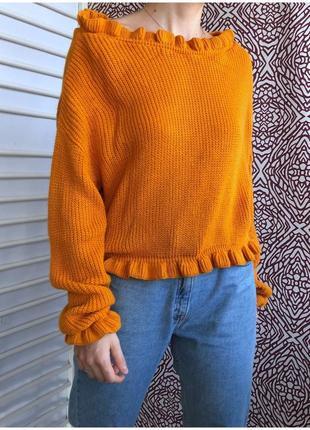 Горчичный свитерок от glamorous