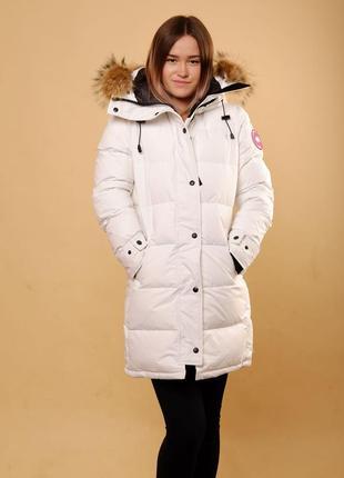 Пуховик canada goose dilinghem l новая зимняя куртка женская