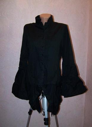 Крутая платье-туника-рубашка углы,дизайнерская