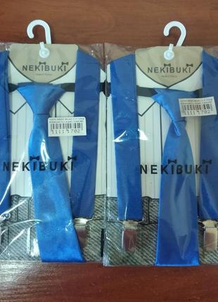 Подтяжки с галстуком