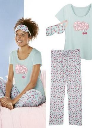 Комплект для дома и отдыха, пижама, esmara