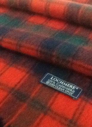 Английский кашемировый шарф от  lochmere