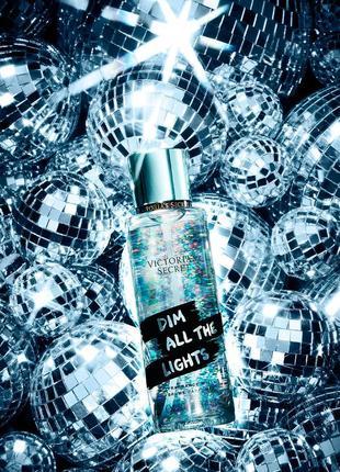 Парфюмированный спрей для тела victoria's secret dim all the lights