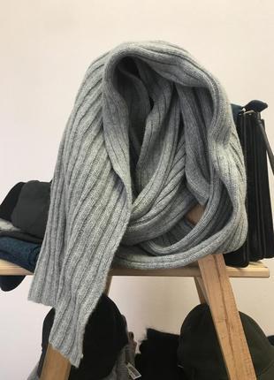 Шерстяной шарф h&m 418833
