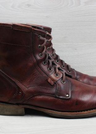 Кожаные мужские ботинки caterpillar оригинал, размер 46 (cat)