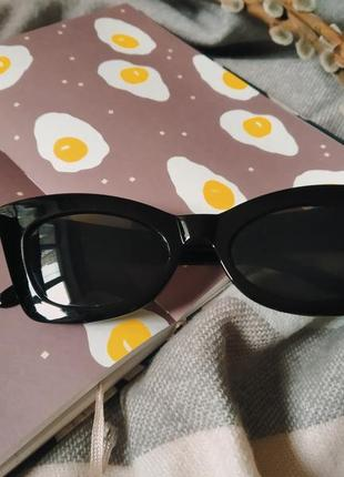Солнцезащитные очки в стиле ретро cat eye