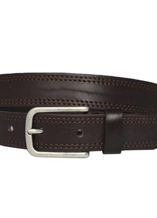 Emilia30 кожаный женский ремень коричневый кожанный пояс для джинсов пасок ремінь