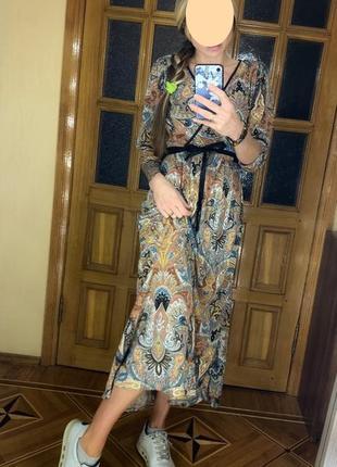 Платье огурцы kappahl l-xl